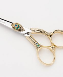 Mirage Pavone Peacock Gold Titanium Shear