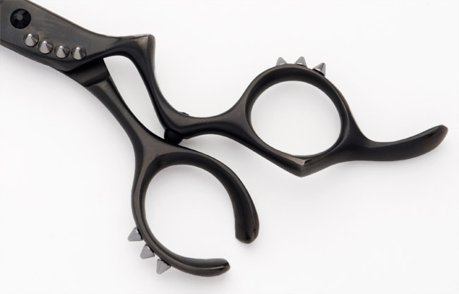 Debut Rage 10 Spikes Hair Cutting Scissor Handle
